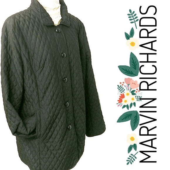Marvin Richards Jackets & Blazers - Marvin Richards Quilted Nylon Lined Jacket